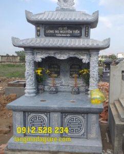 Top mộ đôi đá đẹp tại Sóc Trăng - Các mẫu mộ đôi bằng đá tại Sóc Trăng