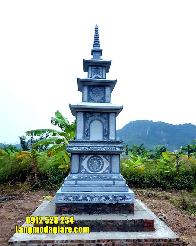 Xây tháp mộ đá tại Khánh Hòa đẹp nhất