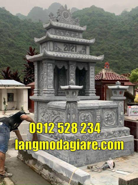 bán vad lắp đặt mẫu mộ đôi đẹp tại Long An