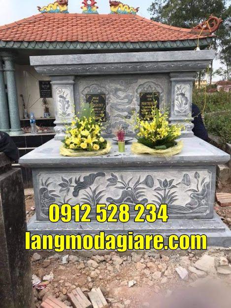 mẫu mộ đá giành cho 2 người bán tại Tiền Giang