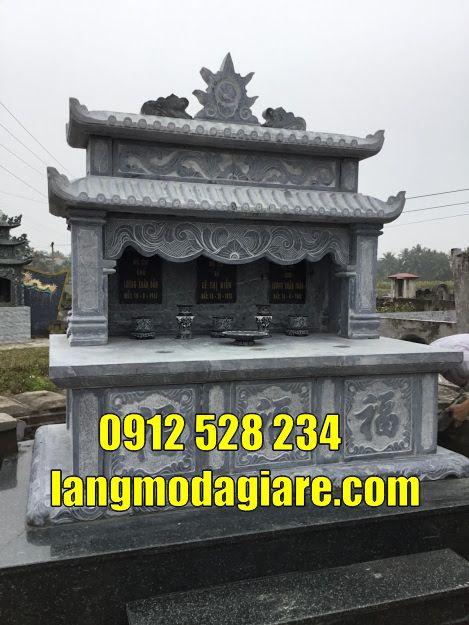 mẫu mộ đôi đẹp đơn giản bán tại Lâm Đồng