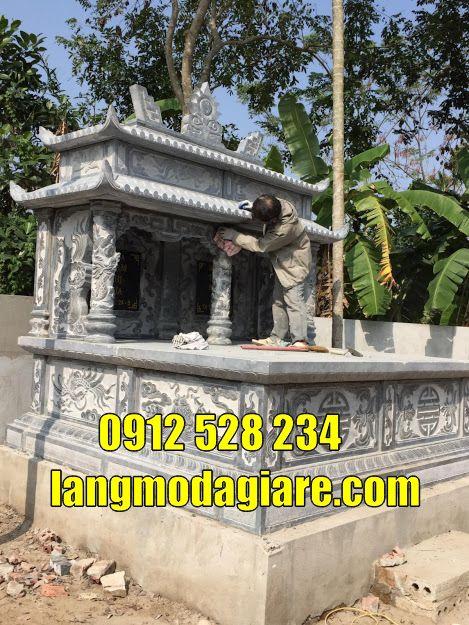 mộ đá đôi đẹp bán tại Lâm Đồng