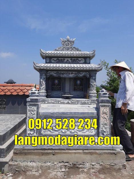 mộ đôi đẹp bằng đá bán tại Hậu Giang