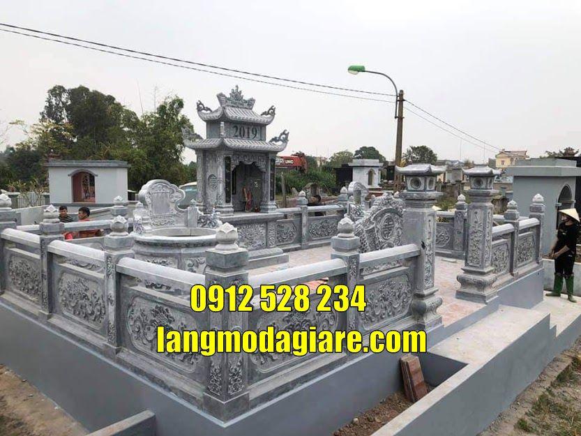 Lăng mộ bằng đá đẹp tại Bắc Ninh mộ đá đẹp tại Bắc Ninh