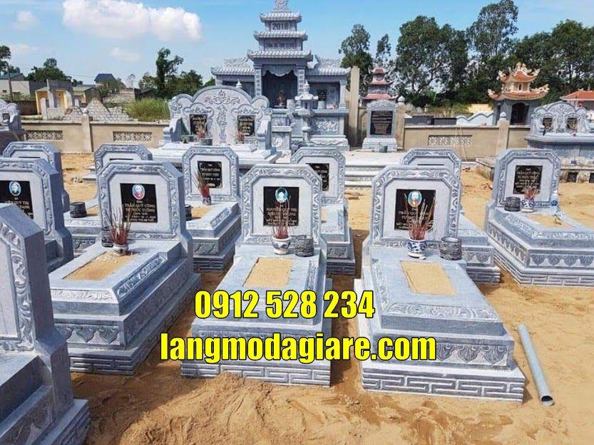Mẫu lăng mộ đá đẹp bán tại Hưng Yên mộ bằng đá