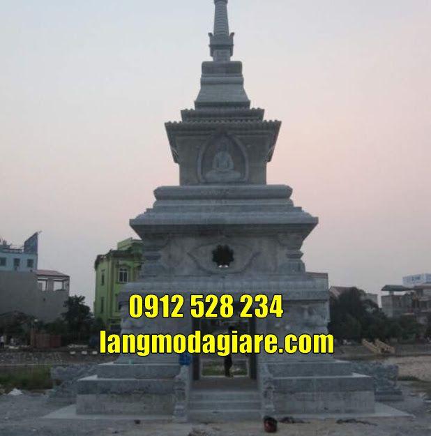 Mẫu tháp để tro cốt tại  Bình Phước