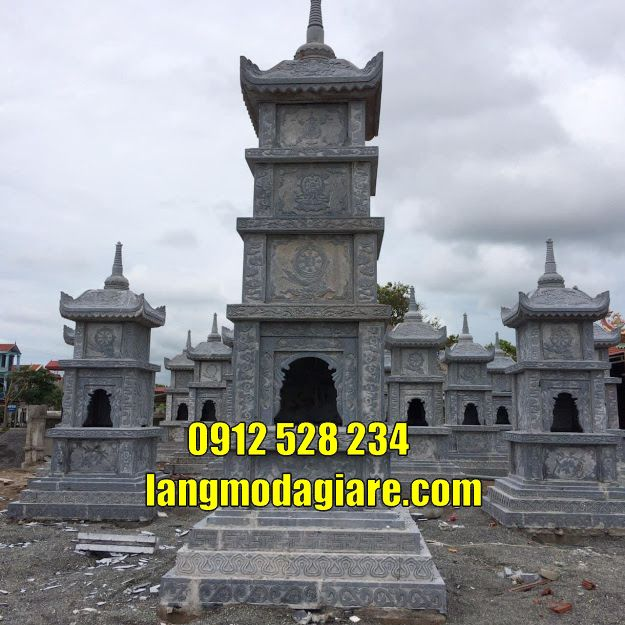 tháp để tro cốt tại Gia Lai