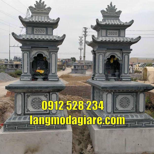 Bán mộ đá đẹp thờ hũ cốt tại An Giang Tháp mộ cất tro cốt tại An Giang