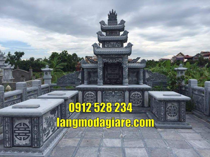 Lăng mộ đá đẹp bán tại  Nam Định mẫu mộ đẹp