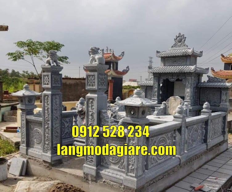 Lăng mộ đá giá rẻ tại Vĩnh Phúc Mộ đá đẹp tại Vĩnh Phúc