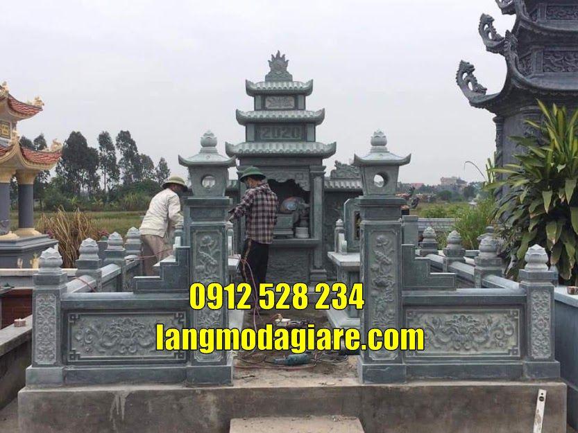 Mẫu mộ đá đẹp bán tại Nam Định khu lăng mộ tại Nam Định