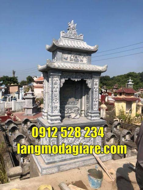 Mẫu mộ đẹp để hũ tro cốt tại Đồng Tháp Tháp mộ đá tại Đồng Tháp