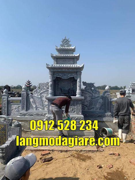 Mẫu mộ đẹp thờ hũ tro cốt bán tại Cần Thơ Mộ đá đẹp tại Cần Thơ