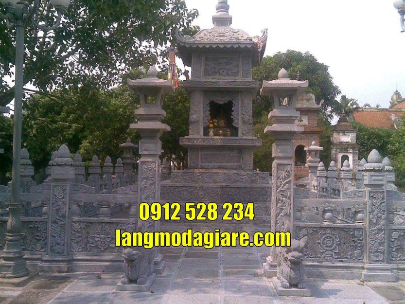 Mẫu tháp mộ chùa đẹp