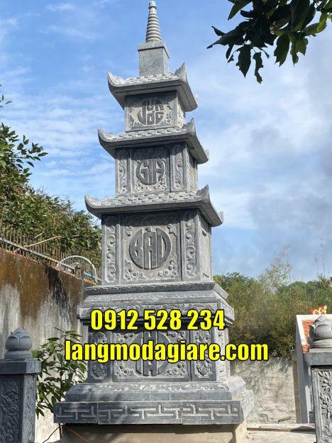 tháp mộ sư đẹp bằng đá giá rẻ
