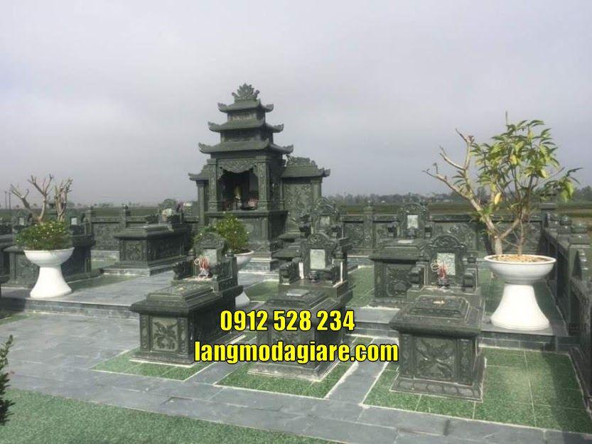 Khu lăng mộ đá cất tro cốt bán tại Trà Vinh