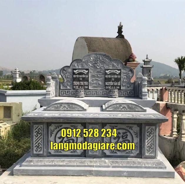 Mẫu mộ đôi thờ hũ cốt bán tại Kiên Giang
