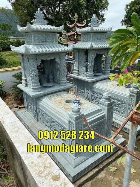 Mộ đá thờ hũ cốt tại Kiên Giang