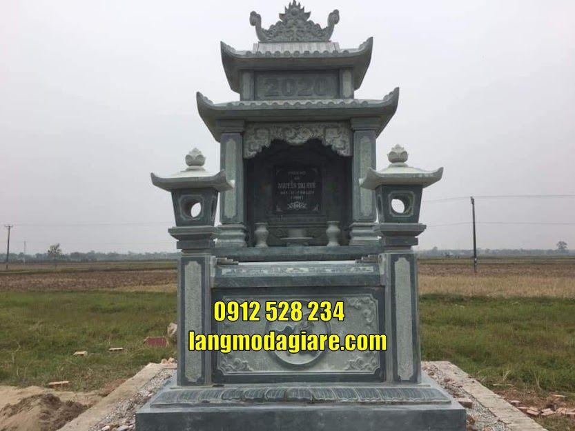 Top 5 mẫu mộ đá thờ  tro cốt đẹp tại Tiền Giang